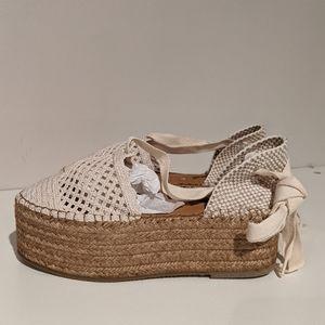 NEW Free People espadrille platform sandals
